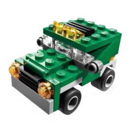 Конструктор Лего Криэйтор 5865 Мини самосвал