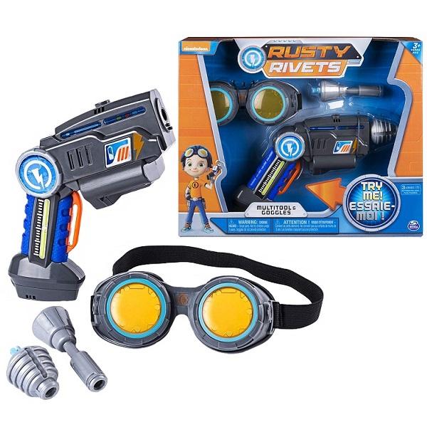 Rusty Rivets 28109 Супер инструмент и очки Расти игровой набор rusty rivets супер инструмент и очки расти