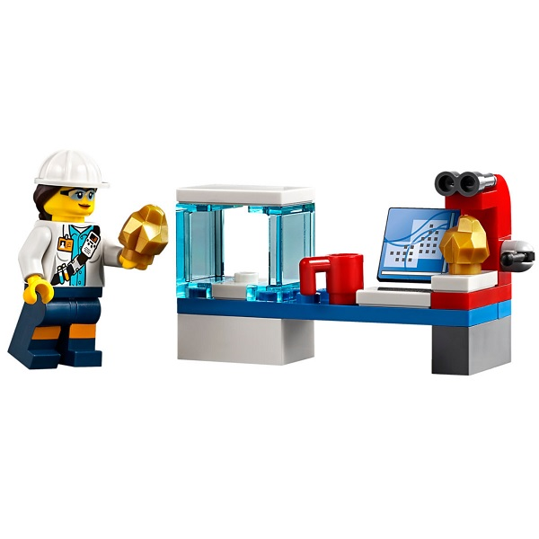 LEGO City 60186 Конструктор ЛЕГО Город Тяжелый бур для горных работ