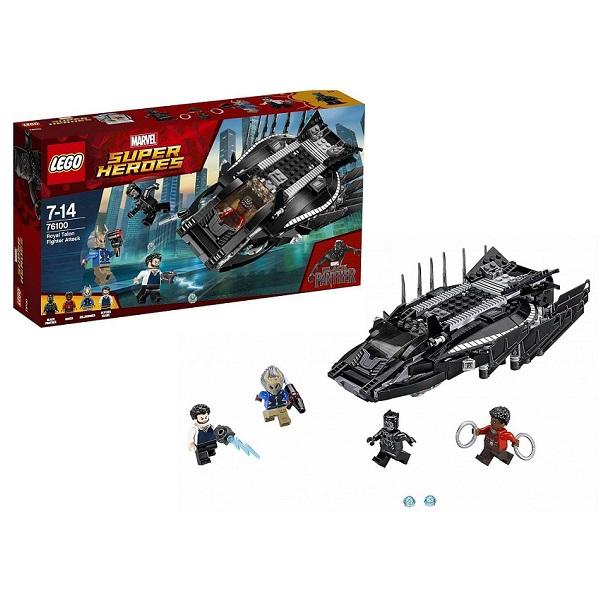 Lego Super Heroes 76100 Конструктор Лего Супер Герои Нападение Королевского Когтя