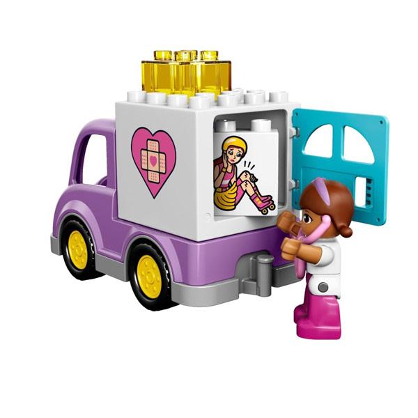 Lego Duplo 10605 Конструктор Доктор Плюшева: Скорая помощь Рози