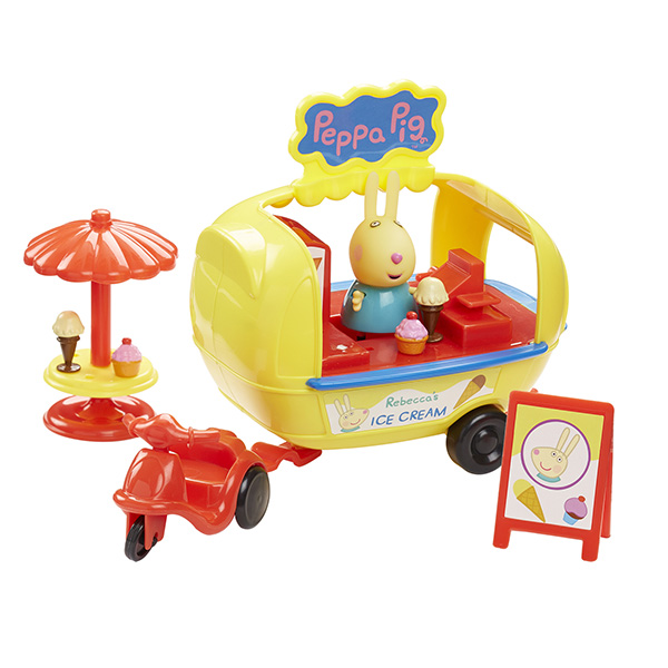 "Peppa Pig 30628_9 Свинка Пеппа Игровой набор ""Кафе-мороженое Ребекки"""