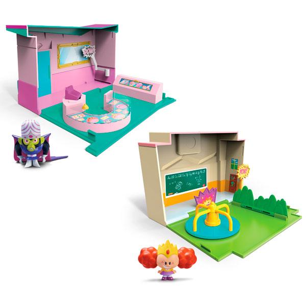 Powerpuff Girls 22310 Раскрывающийся игровой набор с фигуркой суперкрошки (в ассортименте) spin master большой автомобиль спасателей погрузчик рокки щенячий патруль