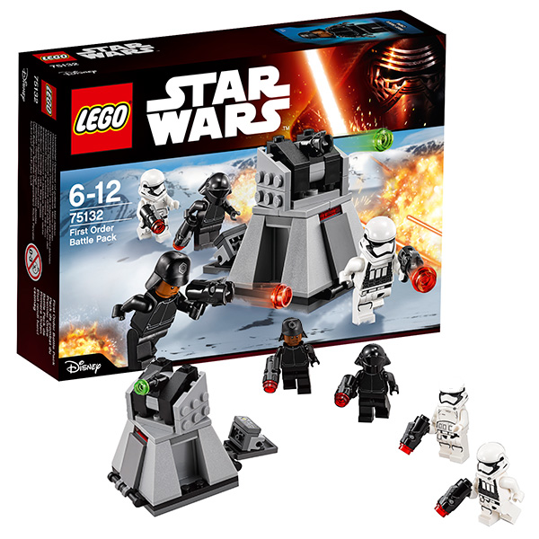 Lego Star Wars 75132 Лего Звездные Войны Боевой набор Первого Ордена
