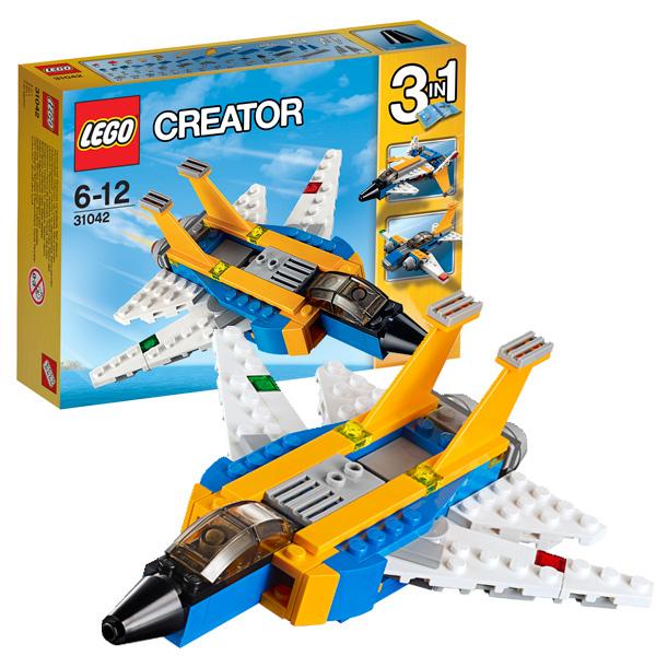 Конструктор Лего Криэйтор 31042 Конструктор Реактивный самолет