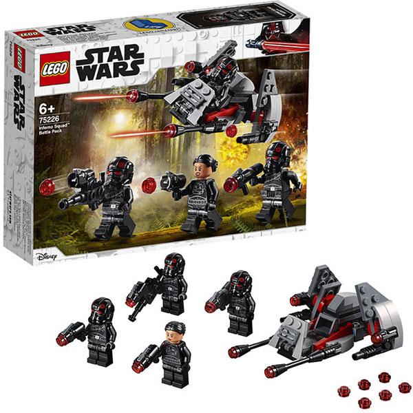 LEGO Star Wars 75226 Конструктор Лего Звездные Войны Боевой набор отряда Инферно конструктор lego боевой набор галактической империи лего звездные войны