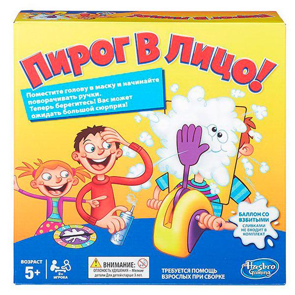 Hasbro Other Games B7063 Настольная игра Пирог в лицо