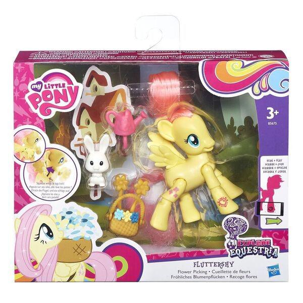 Hasbro My Little Pony B5675 Май Литл Пони Флаттершай с артикуляцией