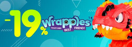 Скидка 19% на Wrapples