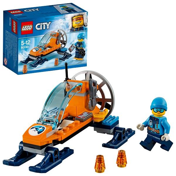 Lego City 60190 Конструктор Лего Город Арктическая экспедиция Аэросани конструктор lego city арктическая экспедиция аэросани 50 элементов