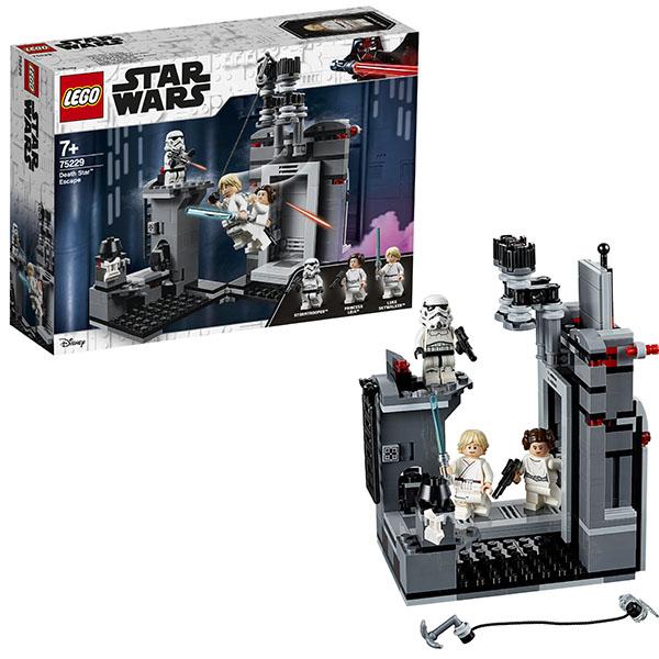Lego Star Wars 75229 Конструктор Лего Звездные Войны Побег со Звезды смерти конструктор lego star wars битва на планете такодана 75139