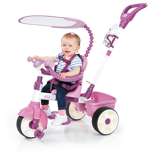 Little Tikes 634307 Литл Тайкс Велосипед 4 в 1, розовый