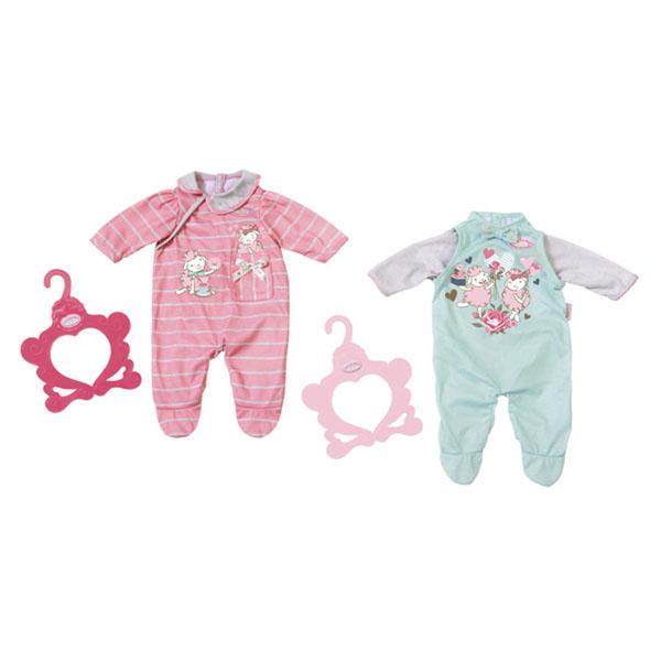 Zapf Creation Baby Annabell 700-846 Бэби Аннабель Комбинезончики zapf creation baby annabell 700 181 бэби аннабель супернабор с одеждой и аксессуарами