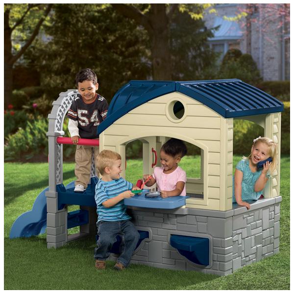 Little Tikes 612015 Литл Тайкс Игровой домик с горкой