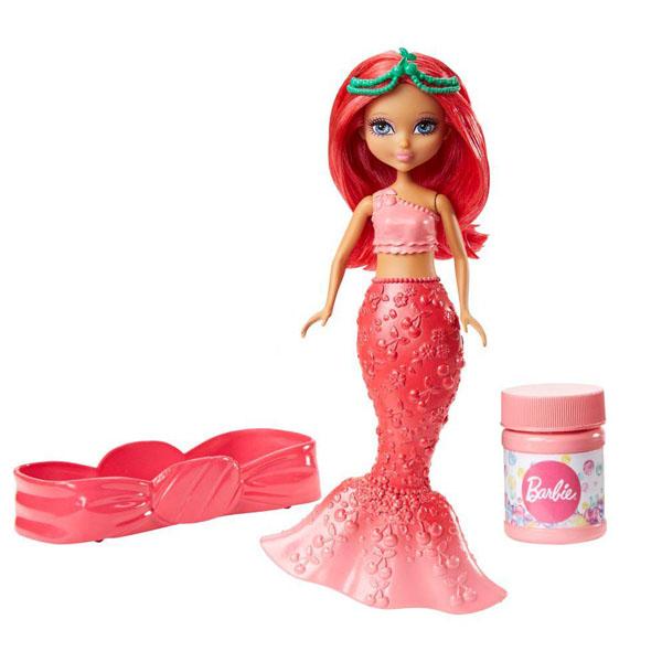 Mattel Barbie DVN00 Барби Маленькие русалочки с пузырьками Стильная mattel barbie dvm99 барби маленькие русалочки с пузырьками модная