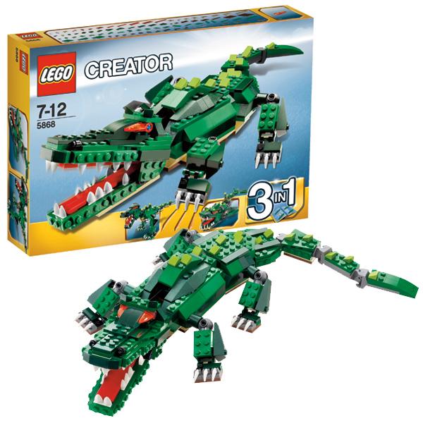 Конструктор Лего Криэйтор 5868 Конструктор Свирепые чудовища