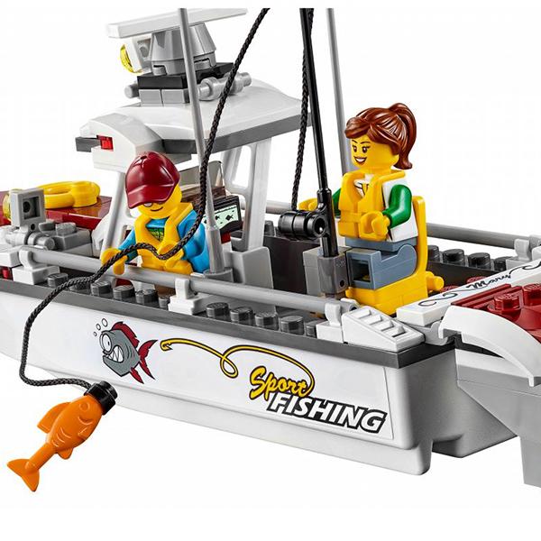 LEGO City 60147 Конструктор ЛЕГО Город Рыболовный катер