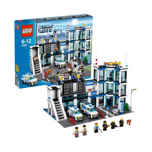 Lego City 7498_1 Конструктор Лего Город Полицейский участок
