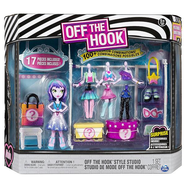 """Off the Hook 6046892 Набор кукол и аксессуаров """"Стильная студия"""""""