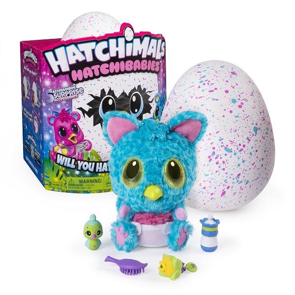 Hatchimals 19133-CHE Хетчималс Hatchy-малыш интерактивный питомец, вылупляющийся из яйца