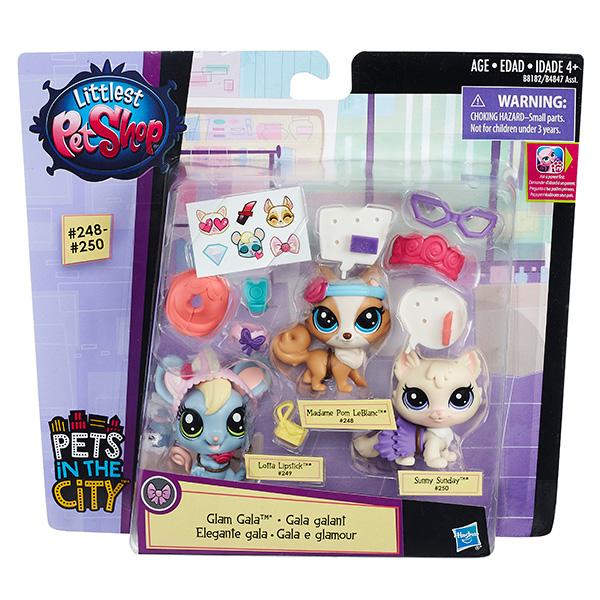 Hasbro Littlest Pet Shop B4847 Литлс Пет Шоп Зверюшки-модницы (в ассортименте)