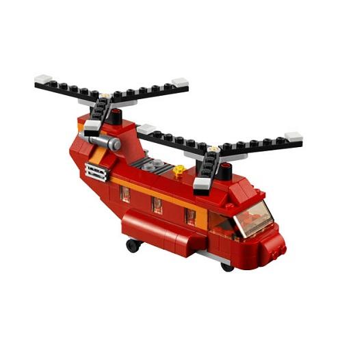 Конструктор Лего Криэйтор 31003 Грузовой вертолёт (самолёт/судно на воздушной подушке)