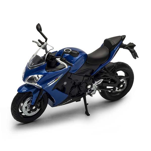 Welly 12844P Велли модель мотоцикла 1:18 Suzuki GSX S1000F welly 12154p велли модель мотоцикла 1 18 motorcycle yamaha 2001 yzf1000r thunderace