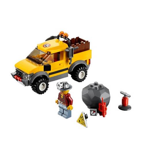 Lego City 4200_1 Конструктор Лего Город Горный внедорожник 4x4