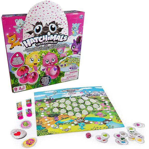 Hatchimals 98234 Хетчималс Настольная игра Memory + 4 коллекционные фигурки игрушка hatchimals коллекционные фигурки 2 штуки в наборе 19114