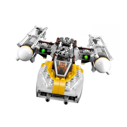 Lego Star Wars 9495 Конструктор Лего Звездные войны Истребитель Золотой Эскадрильи с Y-крыльями