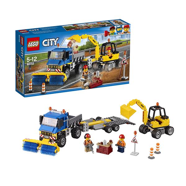 Lego City 60152 Лего Город Уборочная техника куплю ковш для экскаватора с документами