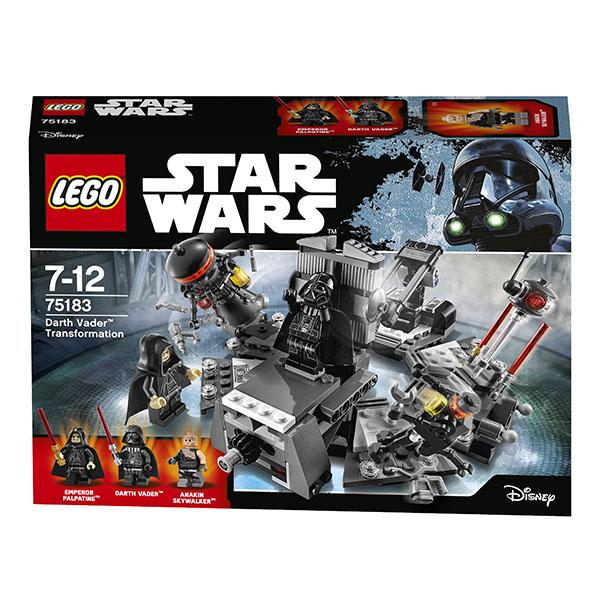 LEGO Star Wars 75183 Конструктор ЛЕГО Звездные Войны Превращение в Дарта Вейдера