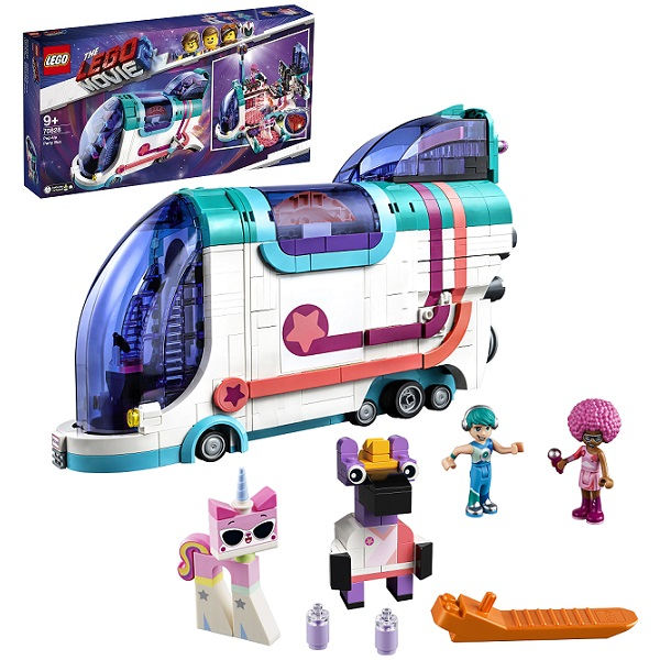 LEGO Movie 2 70828 Конструктор ЛЕГО Фильм 2 Автобус для вечеринки