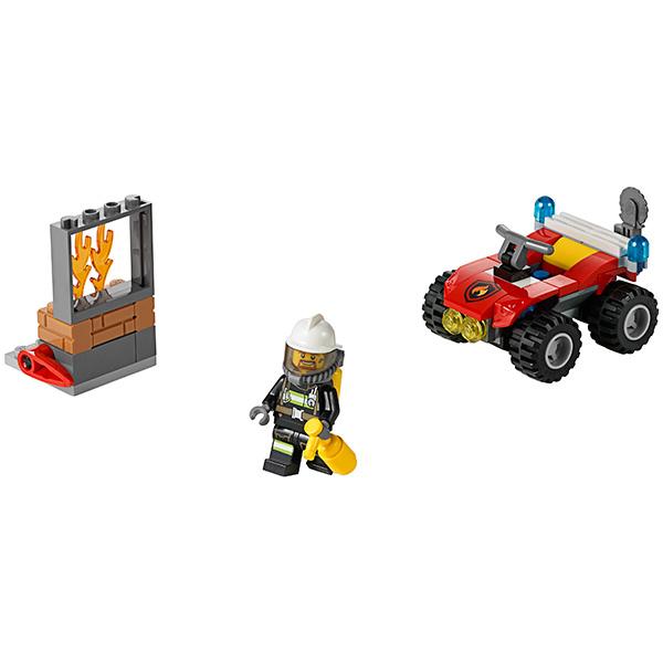 Lego City 60105 Конструктор Лего Город Пожарный квадроцикл