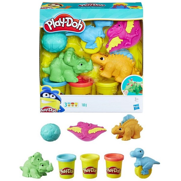 Hasbro Play-Doh E1953 Плей-До Малыши-Динозаврики play doh play doh малыши динозаврики