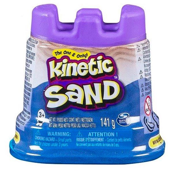Kinetic sand 71419 Кинетик сэнд Кинетический песок для лепки 140 грамм, неоновый цвет kinetic sand 71417 const кинетик сэнд игровой набор c формочками 285 г