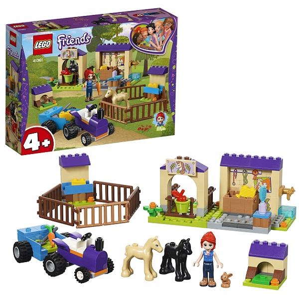 LEGO Friends 41361 Конструктор ЛЕГО Подружки Конюшня для жеребят Мии lego friends 41123 лего френдс салон для жеребят
