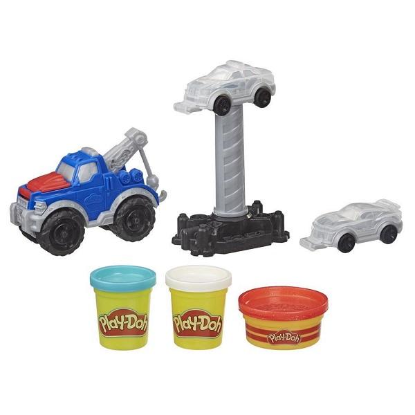 Фото - Hasbro Play-Doh E6690 Игровой набор Wheels Эвакуатор игровой набор специальной массы hasbro play doh wheels e4508