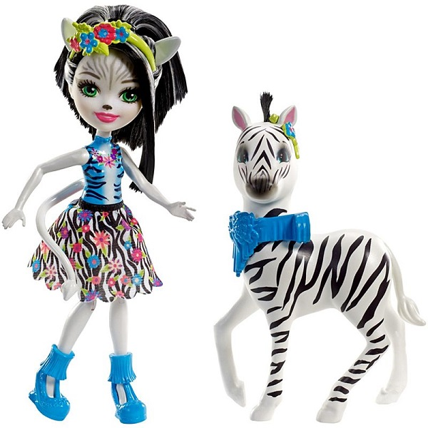 Mattel Enchantimals FKY75 Кукла с большой зверюшкой игровой набор enchantimals кукла со зверюшкой и аксессуарами в ассортименте