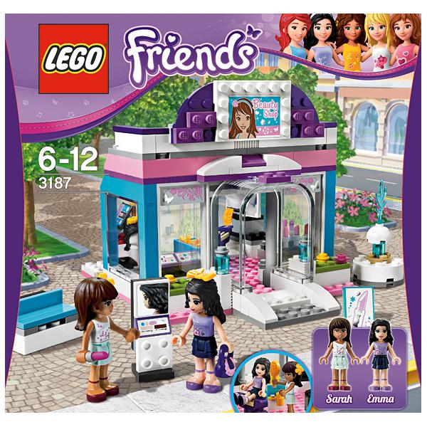 Лего Подружки 3187 Салон красоты Бабочка