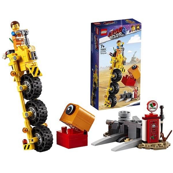 Lego Movie 2 70823 Конструктор Лего Фильм 2 Трехколёсный велосипед Эммета!