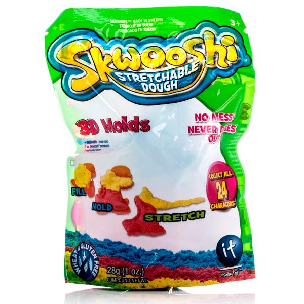 Skwooshi S30000 Сквуши Пакетик с формочкой и массой для лепки 28 г skwooshi s30000 сквуши пакетик с формочкой и массой для лепки 28 г