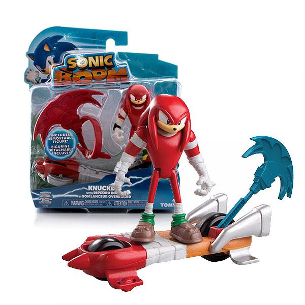 Sonic Boom T22063 Соник Бум Пусковое устройство с фигуркой 7,5 см, Наклз