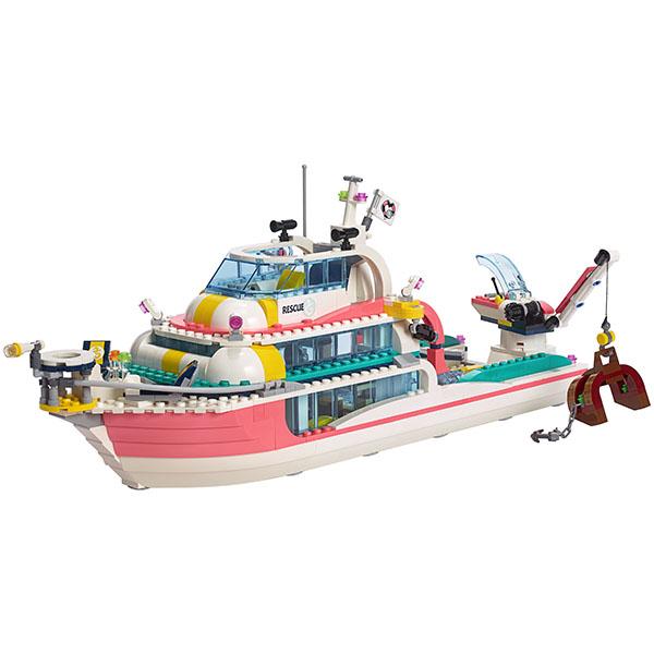 LEGO Friends 41381 Конструктор ЛЕГО Подружки Катер для спасательных операций