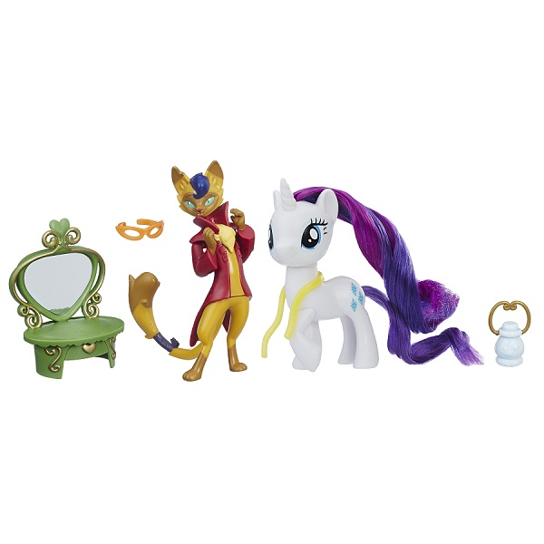 Hasbro My Little Pony B9160/E2246 Игровой набор Уроки Дружбы Рарити и Хитрый Хвост