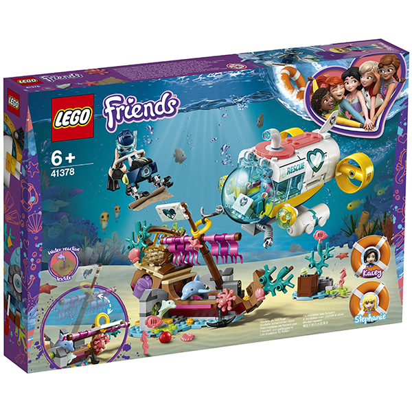 LEGO Friends 41378 Конструктор ЛЕГО Подружки Спасение дельфинов