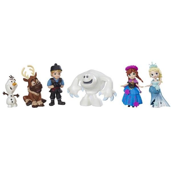 Hasbro Disney Princess C1118 Набор маленьких кукол Холодное сердце для коллекционеров