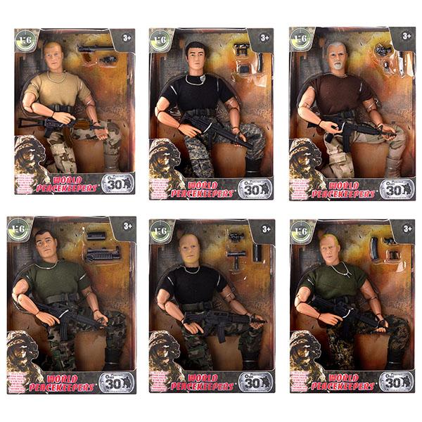 """World Peacekeepers MC90001 Игровой набор """"Универсальный солдат"""" 1:6 (в ассортименте)"""