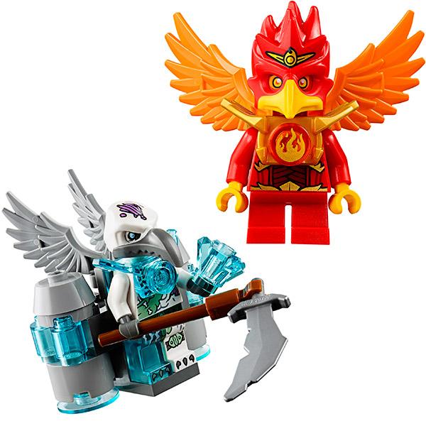 Лего Чима 70221 Конструктор Непобедимый Феникс Флинкса