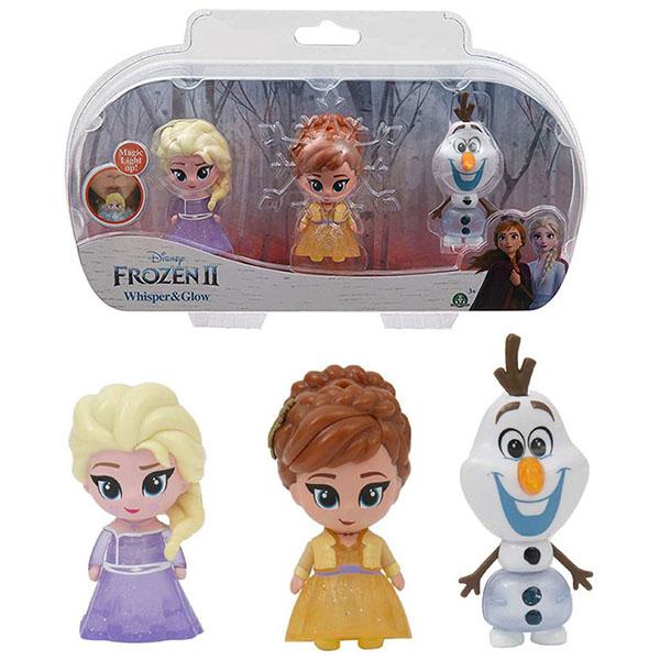 Giochi Preziosi Frozen FRN75000 Светящаяся фигурка Холодное Сердце-2 (в наборе 3 шт)